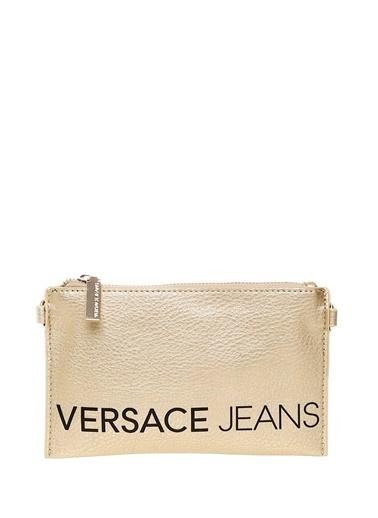 Versace Jeans Clutch / El Çantası Altın